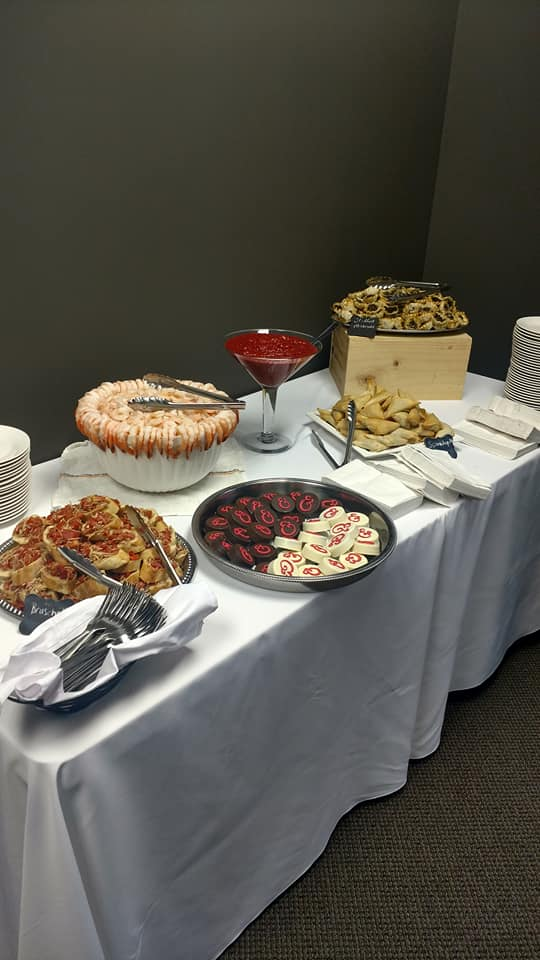 catered lunch