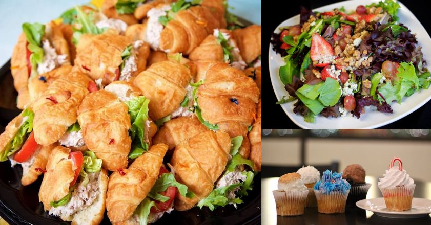 Lunch catering header